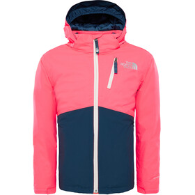 The North Face Youth Snowquest Plus Jacket Rocket Red